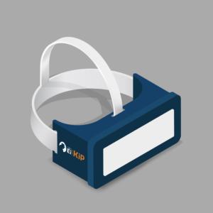 voorbeeld bedrukte Virtual Reality bril (VR)