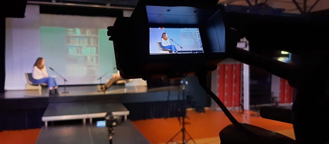boekpresentatie videoregistratie en livestream
